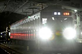 大井町線大岡山③番線ホームドア輸送&設置