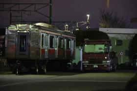 5118Fサハ5518 総合車両製作所横浜事業所陸送
